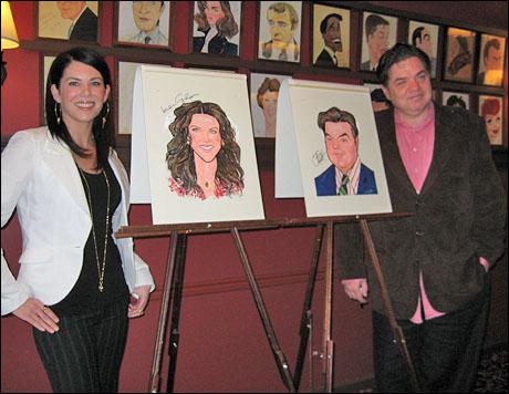 Lauren Graham and Oliver Platt