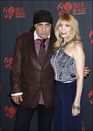 Steven Van Zandt and Maureen Van Zandt
