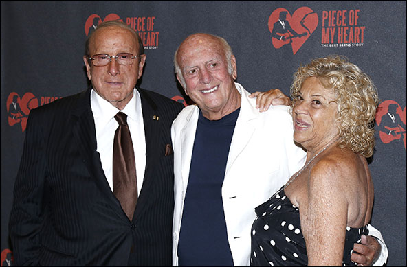 Clive Davis, Mike Stoller and Corky Hale