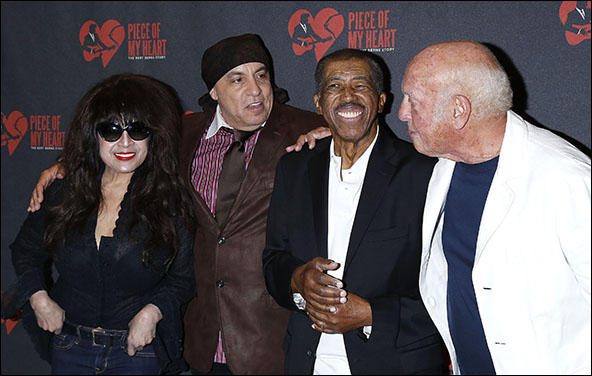 Ronnie Spector, Steven Van Zandt, Ben E. King and Mike Stoller