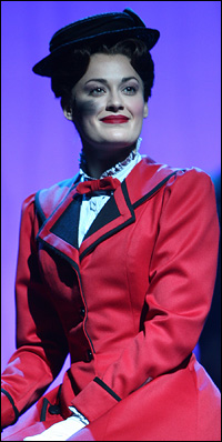 Ashley Brown in <I>Mary Poppins</I>.
