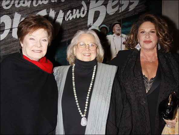 Polly Bergen, Barbara Cook and Lainie Kazan