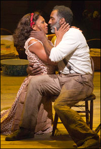 Audra McDonald and Norm Lewis in <i>The Gershwin&#39;s Porgy and Bess</i>.