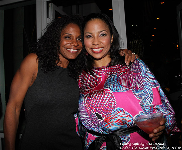Audra McDonald and Heather Hill