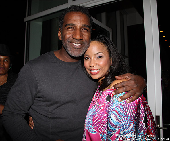 Norm Lewis and Heather Hill