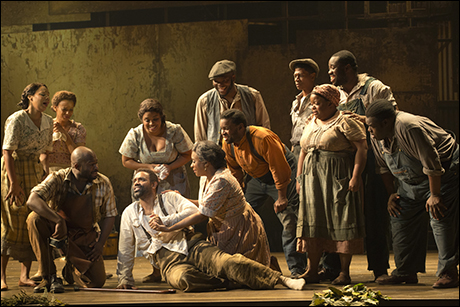 Nathaniel Stampley and cast