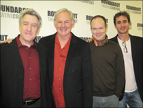 Richard Poe, Victor Garber, James Joseph O'Neil and Marc Vietor