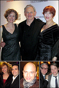 <I>Present Laughter</I> stars Lisa Banes, Victor Garber and Harriet Harris; guests Julie White with Mario Cantone, Michael Cerveris and Scott Wittman with Matthew Broderick