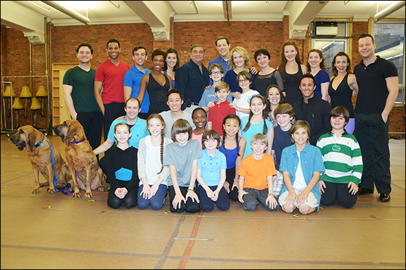 The cast of That Hopey Changey Thing
