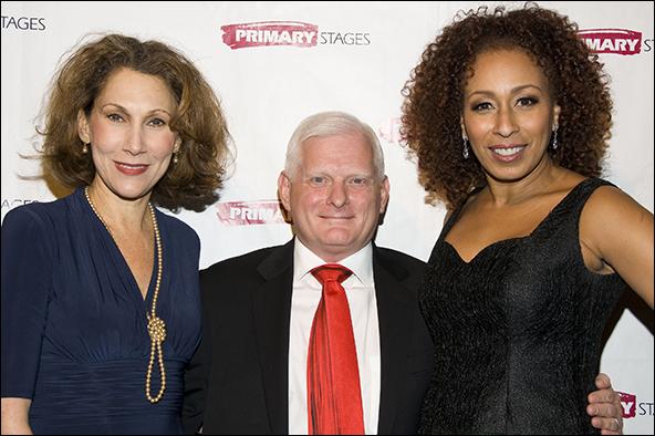 Randy Graff, Ted Snowdon and Tamara Tunie