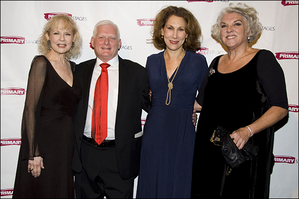 Penny Fuller, Ted Snowdon, Randy Graff and Tyne Daly
