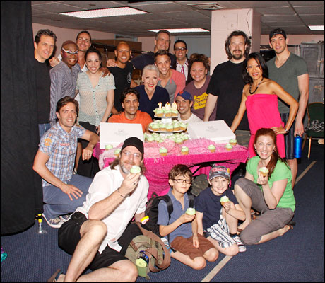 The cast of Priscilla Queen of the Desert