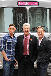<I>Priscilla</I> stars Oliver Thornton, Tony Sheldon and Jason Donovan
