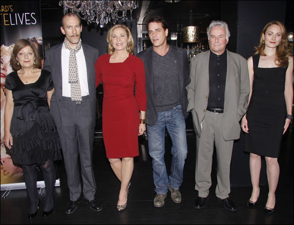 Caroline Lena Olsson, Simon Paisley Day, Kim Cattrall, Paul Gross, Sir Richard Eyre and Anna Madeley