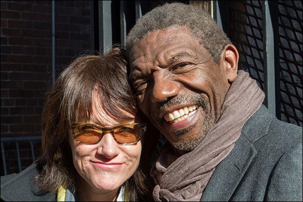 Heidi Rodewald and Vondie Curtis-Hall