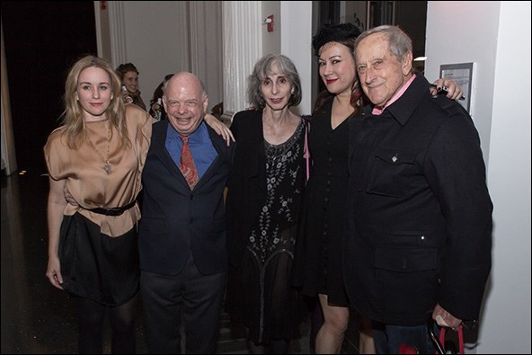 Emily Cass McDonnell, Wallace Shawn, Deborah Eisenberg, Jennifer Tilly and André Gregory