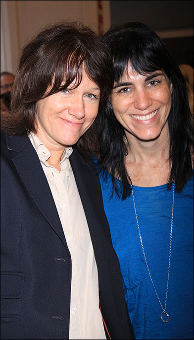 Heidi Rodewald and Leigh Silverman