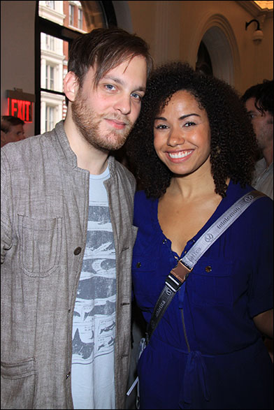 Theo Stockman and Tanesha Ross