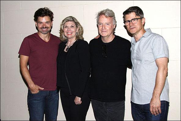 Hunter Foster, Debra Monk, John Foley and Randy Redd
