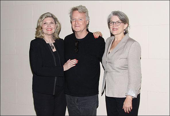 Debra Monk, John Foley and Cass Morgan