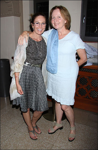 Diane Lane and Kate Burton