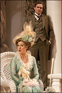 Charlotte Parry and Robert Sean Leonard