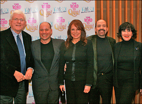 Phil Donahue, Stephen Cole, Marlo Thomas, David Krane and Chita Rivera.