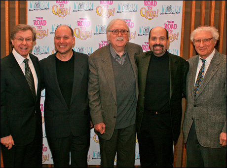 Maury Yestson, Stephen Cole, Tom Meehan, David Krane and Sheldon Harnick
