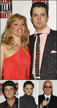 Elizabeth Stanley and Eddie Clendening; co-star Lance Guest, guests Ramona Mallory and Paul Shaffer