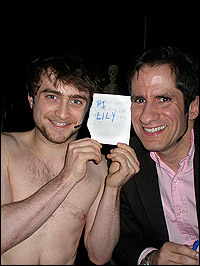 Daniel Radcliffe and Seth Rudetsky