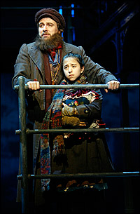 Manoel Felciano and Sarah Rosenthal in the Kennedy Center <I>Ragtime</I>.