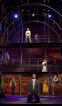 The cast of <I>Ragtime</I>