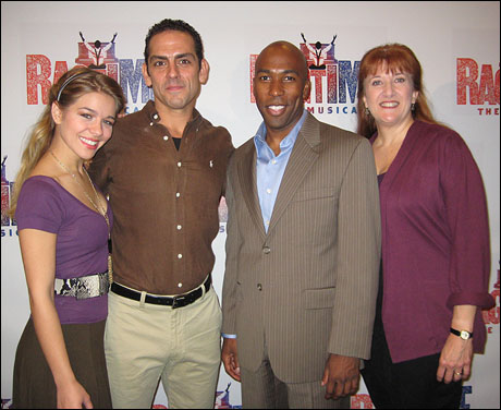 Savannah Wise, Jonathan Hammond, Eric Jordan Young and Donna Migliaccio