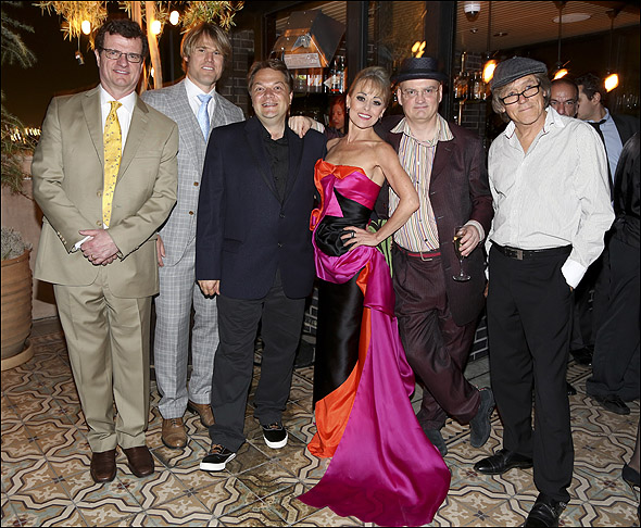 Michael Cumpsty, Erik Heger, Peter Quilter, Tracie Bennett, Terry Johnson and Miles Anderson