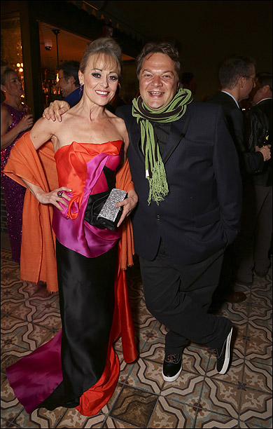 Tracie Bennett and Peter Quilter