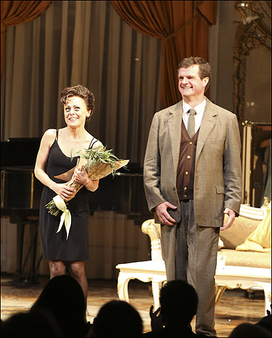 Tracie Bennett and Michael Cumpsty