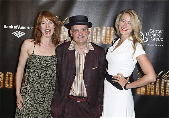 Alicia Witt, Terry Johnson and Siobhan Hewlett