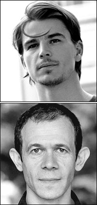 Josh Hartnett (top) and Adam Godley