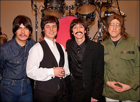Joe Bithorn, Joey Curatolo, Joe Bologna and David Leon