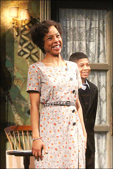 Sophie Okonedo and Bryce Clyde Jenkins