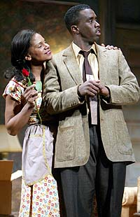 Audra McDonald and Sean Combs