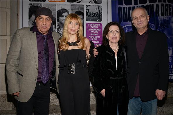Steven Van Zandt, Maureen Van Zandt, Denise Chase and David Chase