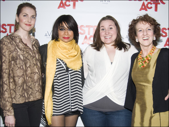 Marla Mindelle, Raven-Symone, Sarah Bolt and Audrie Neenan