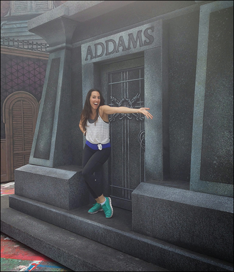 Jessica Lea Patty, who performed in the original Broadway company, gives an Addams Family shoutout!