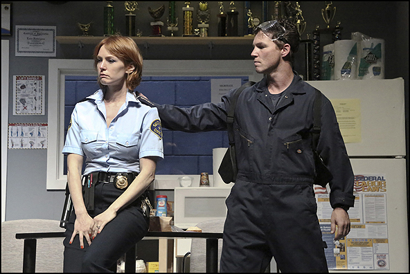 Alicia Witt and  Shawn Hatosy