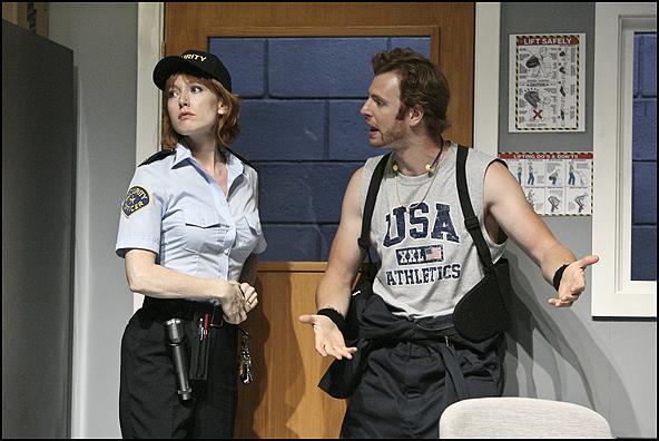 Alicia Witt and Nick Gehlfuss
