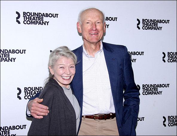 Phyllis Somerville and James Rebhorn