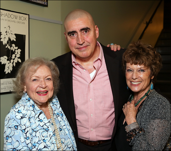 Betty White, Alfred Molina and Jill Gascoine