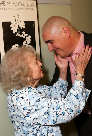 Betty White and Alfred Molina