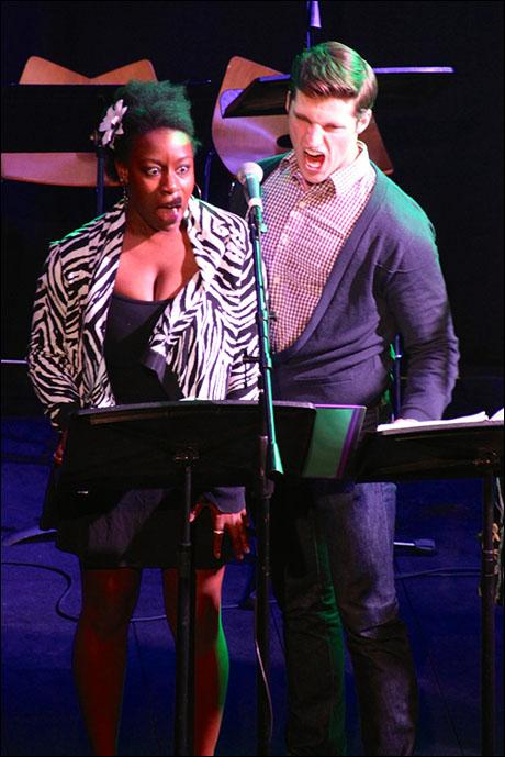 Bre Jackson and Callan Bergmann
